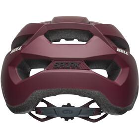 Bell Spark Helmet Women virago matte maroon/slate/sand